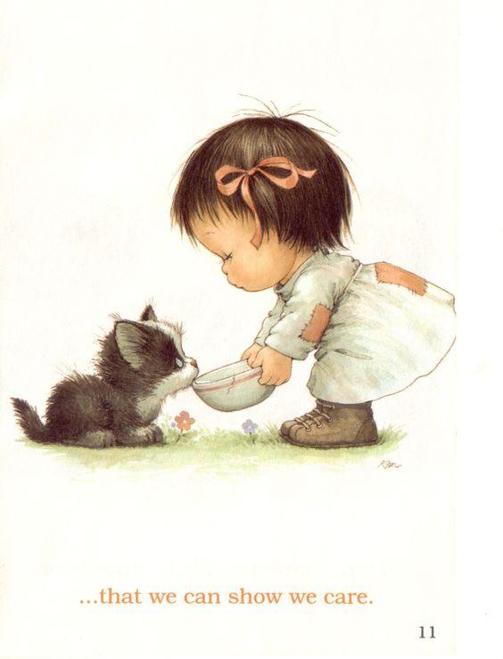 Совместное содержание котов и детей.